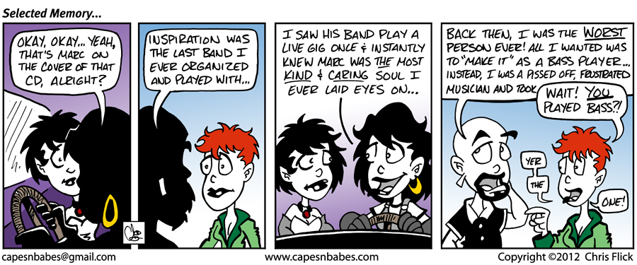 The regular strips continue now that I'm back from Allentown, PA!