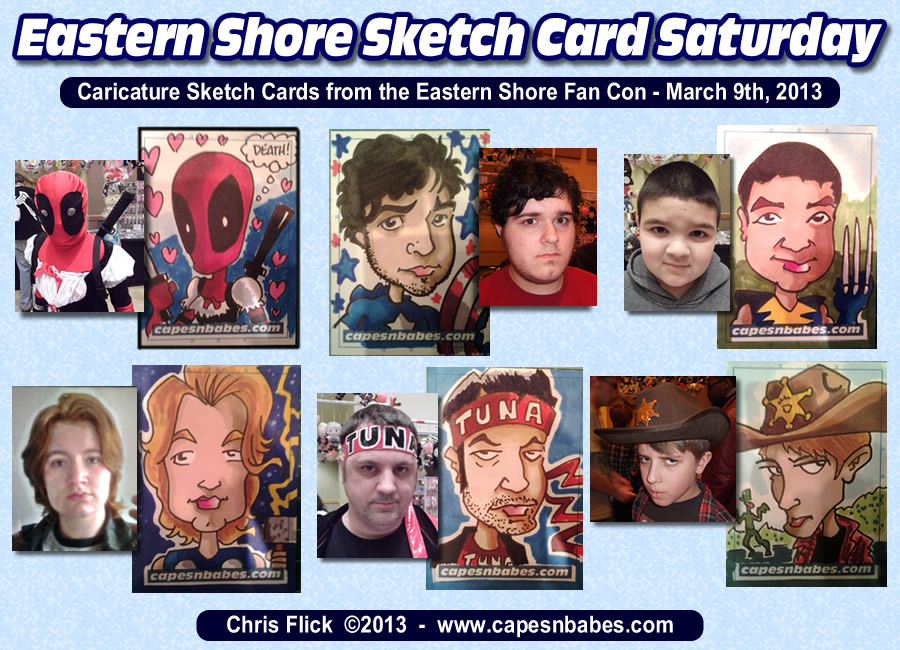 Filler – Eastern Shore Fan Con Caricature Cards…