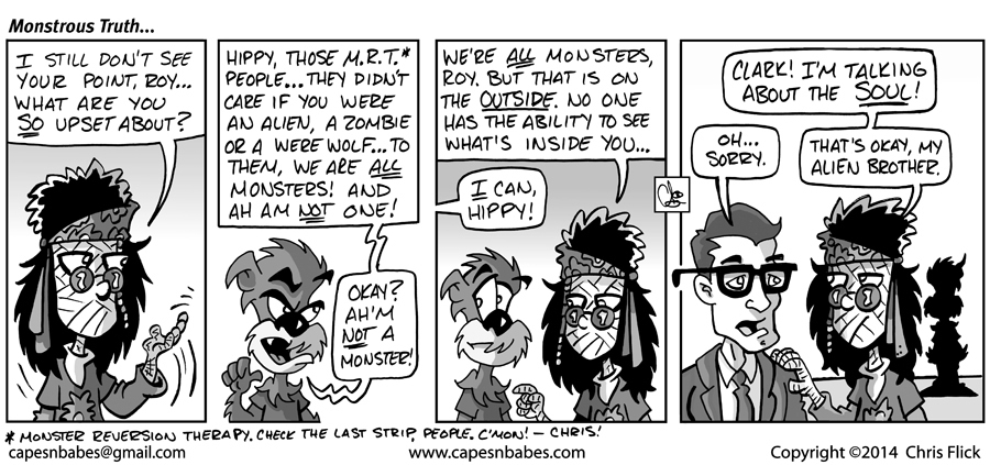 #996 – Monstrous Truth…