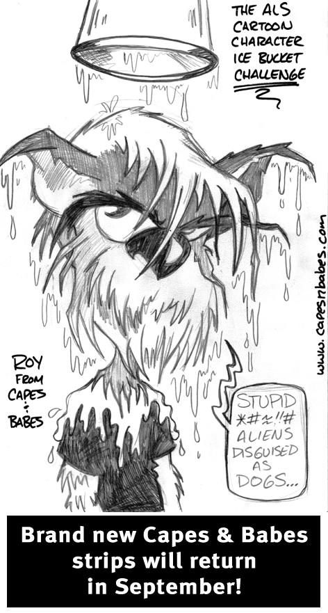 The ALS Cartoon Character Challenge…