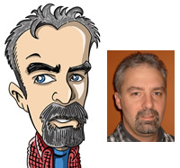 Bill's Avatar caricature