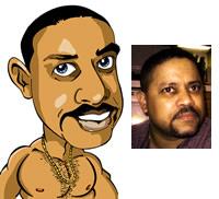 Gene's Avatar Caricature