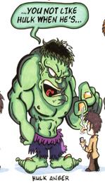 Hulk Norris Anger