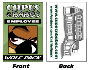 Capes & Babes Employee Badges2