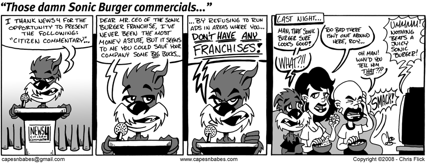 Those damn Sonic Burger commercials…