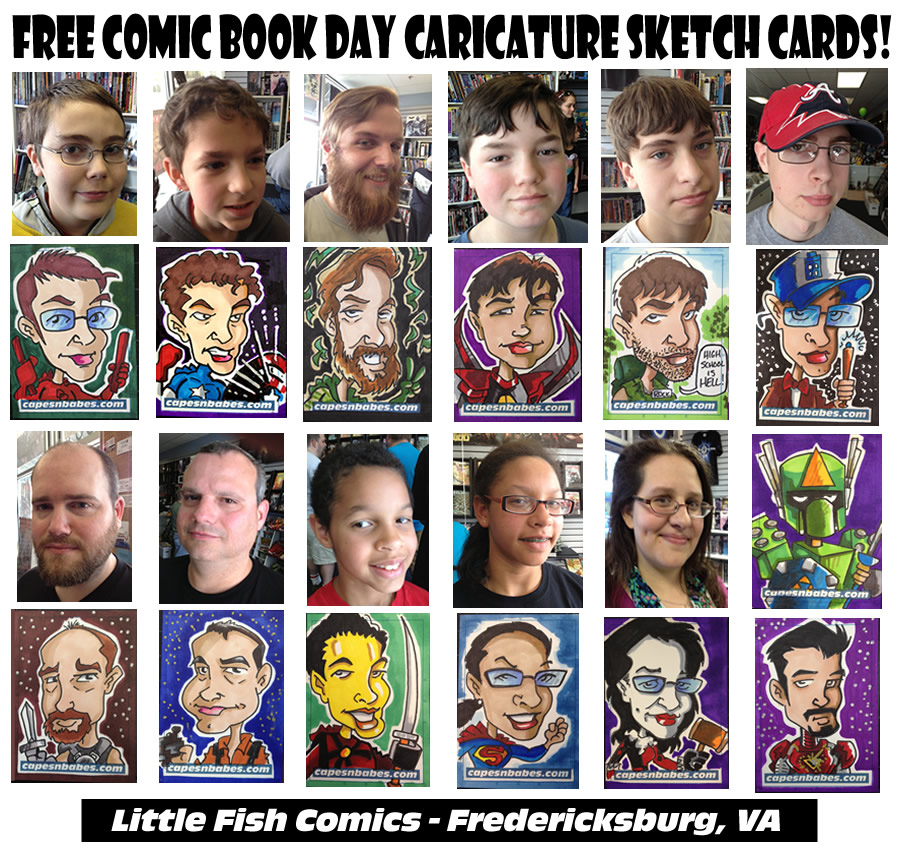 Filler – Free Comic Book Day…