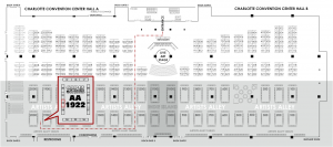 Heroes Con Map - AA1922