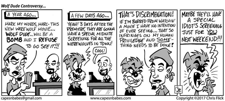 #1061 – The Wolf Dude Controversy…